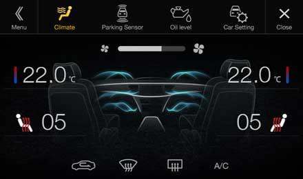 Audi A4 - Audi A5 - X701D-A4R: Driver Assistance - Climate