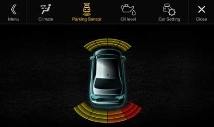 Audi A4 - Audi A5 - X701D-A4R: Driver Assistance - Parking Sensor