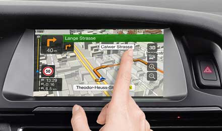 Audi A4 - Audi A5 - X701D-A4R: High Resolution Touch Screen