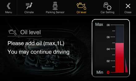 Audi A4 - Audi A5 - X701D-A4R: Warning Messages - Vehicle Settings