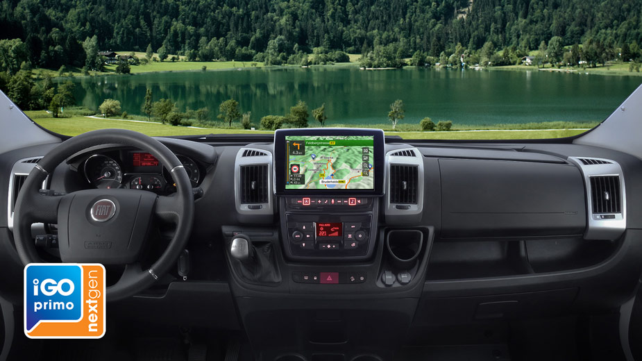 Alpine Style Navigation Designed for Ducato, Jumper and Boxer - X902D-DU
