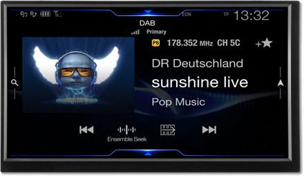 DAB+Digital Radio - Navigation System X702D-F