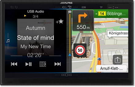 One Look Display - Freestyle Navigation System X901D-F