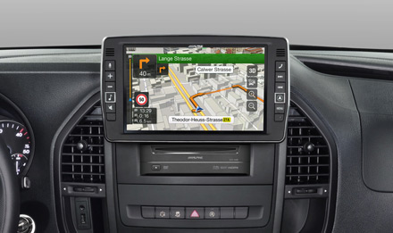 Mercedes Vito - Extra large 23cm (9-inch) touch screen - X903D-V447