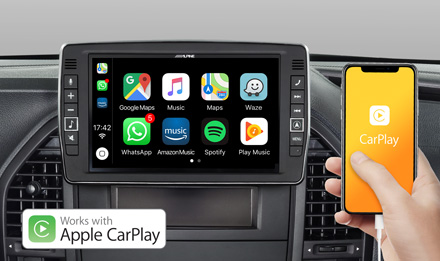 Mercedes Vito - Works with Apple CarPlay - X903D-V447