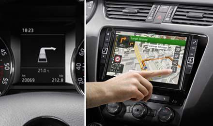 navigation system for skoda octavia 3 alpine x901d oc3. Black Bedroom Furniture Sets. Home Design Ideas