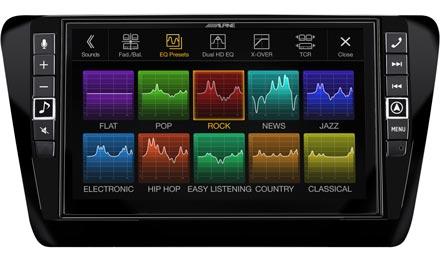 Skoda Octavia 3 - Sound Pre-sets - i902D-OC3
