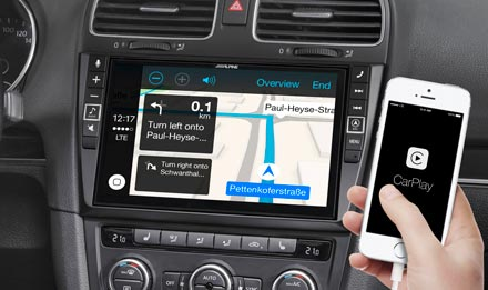 Online Navigation with Apple CarPlay - i902D-G6
