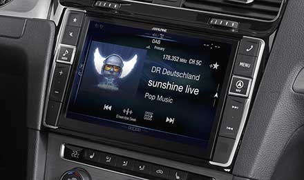 Advanced Navi Station Alpine Style Product For Volkswagen