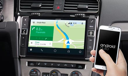 Online Navigation with Android Auto - X902D-G7
