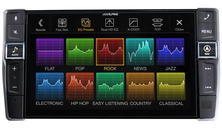 Golf 7 - Sound Pre-sets - X903D-G7