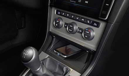 Golf 7 - Wireless Charging Console - KCE-G6QI