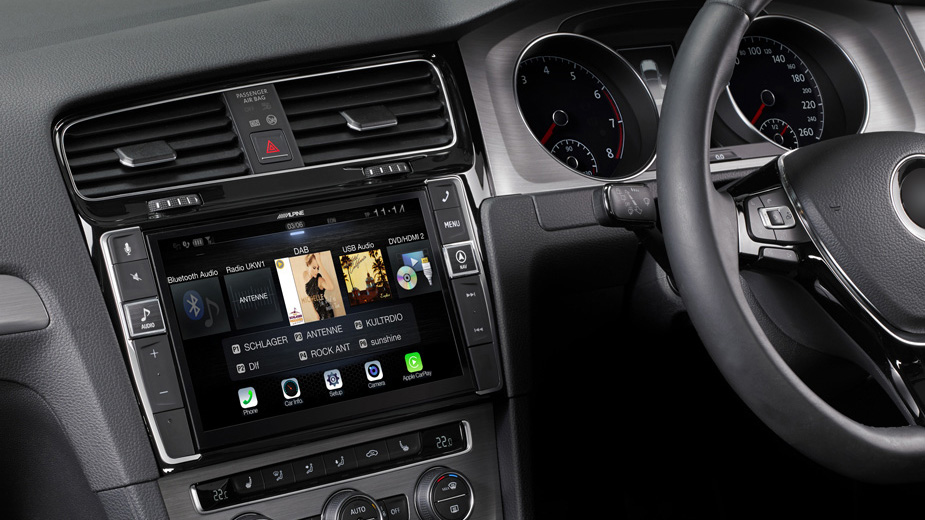Alpine Style Navigation Designed for Volkswagen Golf 7 - X903D-G7R