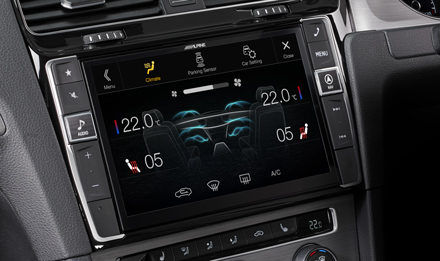 Golf 7 - Air Condition Display - X903D-G7R