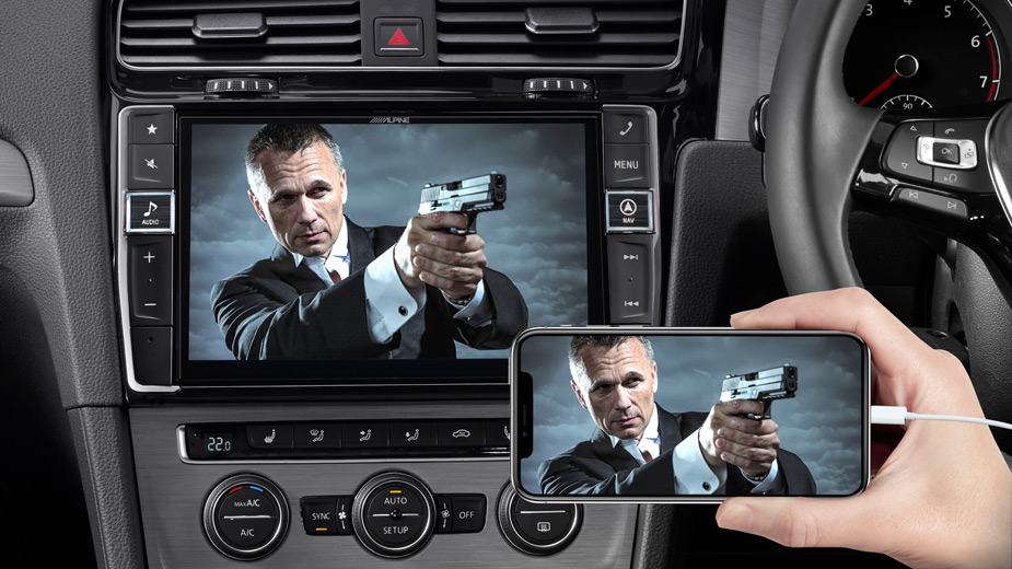 Golf 7 - Big Screen Entertainment - X903D-G7R
