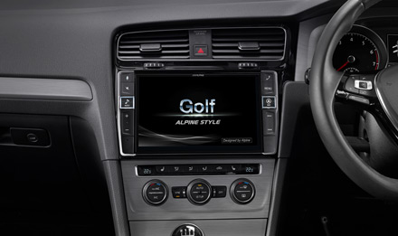 Golf 7 - Start-up Logo GTI - X903D-G7R