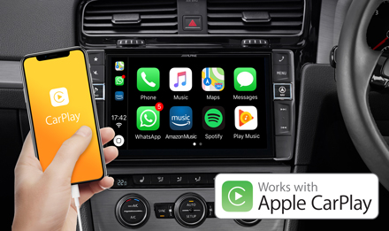 Golf 7 - Works with Apple CarPlay - X903D-G7R