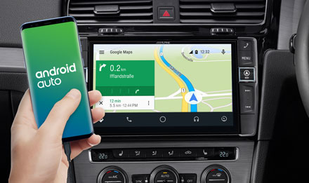 Online Navigation with Android Auto - X903D-G7R