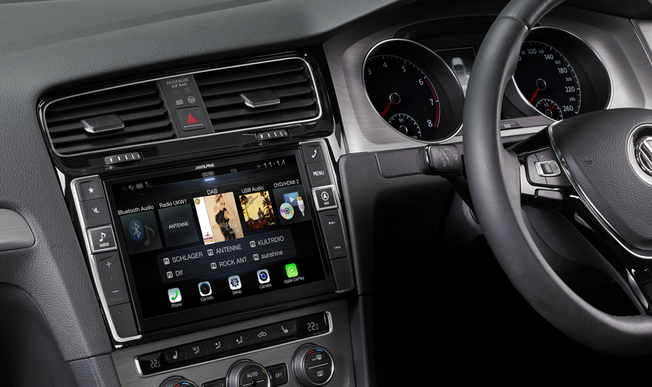 Alpine Style Mobile Media Designed for Volkswagen Golf 7 - i902D-G7R