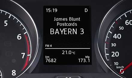 Golf 7 Driver Information Display i902D-G7R