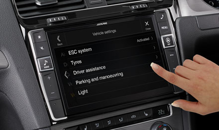 Golf 7 - Vehicle System Setup  - i902D-G7R