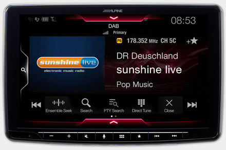 iLX-F903T6R - Built-in DAB+ Digital Radio