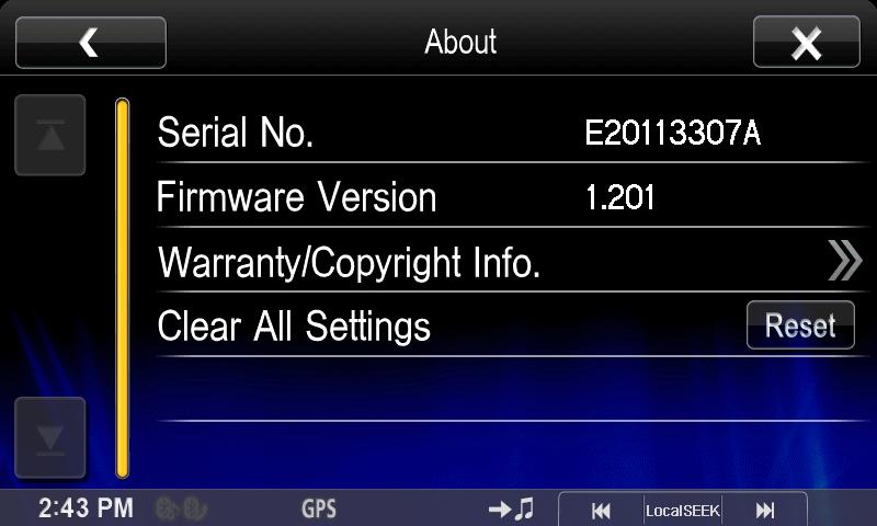Alpine cde 133bt 135bt 136bt w235bt firmware update car.