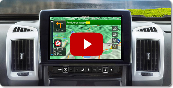 Alpine Style Navigation for Fiat Ducato 3 | Videos