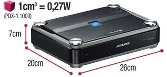 mono power density digital amplifier alpine pdx 1 600 amazing power density ratio