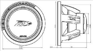 SWR-1522/SWR-1542 Dimension Drawing